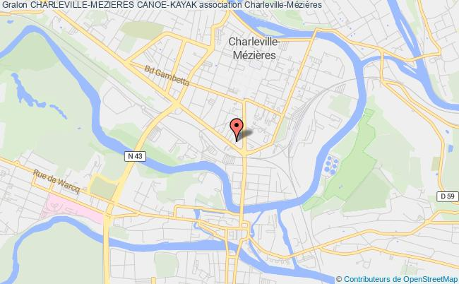 plan association Charleville-mezieres Canoe-kayak