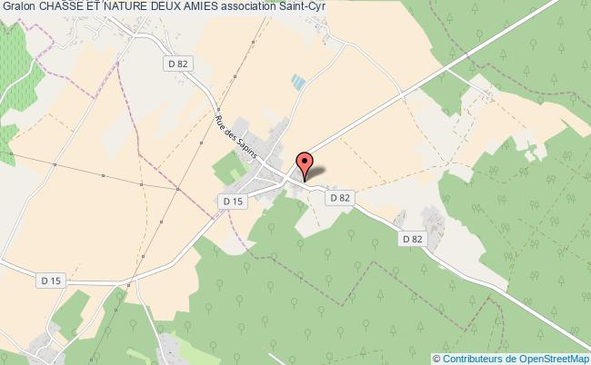 plan association Chasse Et Nature Deux Amies Saint-Cyr