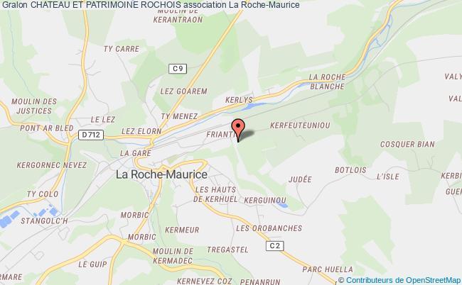 plan association Chateau Et Patrimoine Rochois