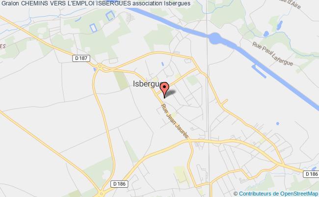 plan association Chemins Vers L'emploi Isbergues
