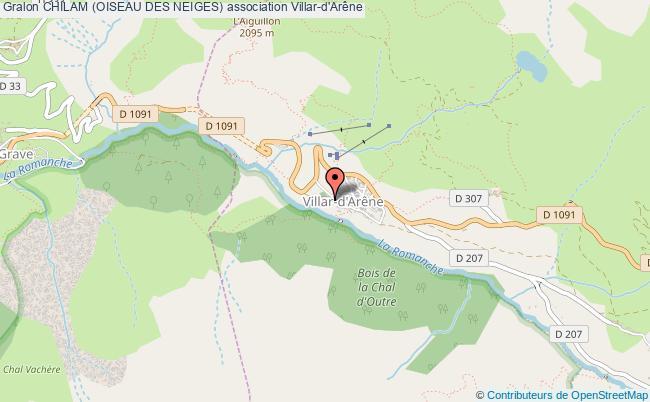 plan association Chilam (oiseau Des Neiges)
