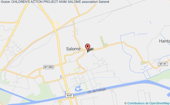 plan association Children's Action Project Anim SalomÉ Salomé