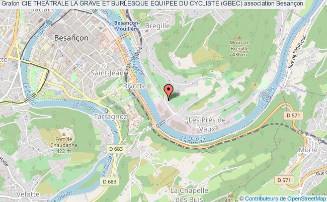 plan association Cie TheÂtrale La Grave Et Burlesque Equipee Du Cycliste (gbec)
