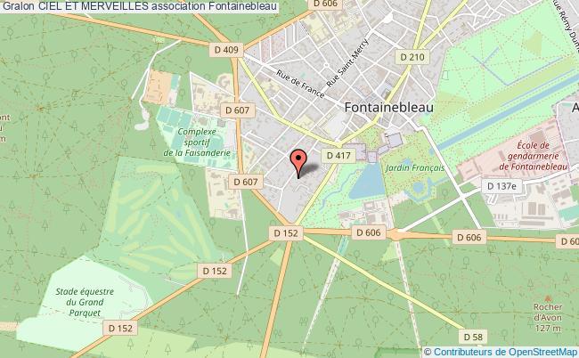 plan association Ciel Et Merveilles Fontainebleau