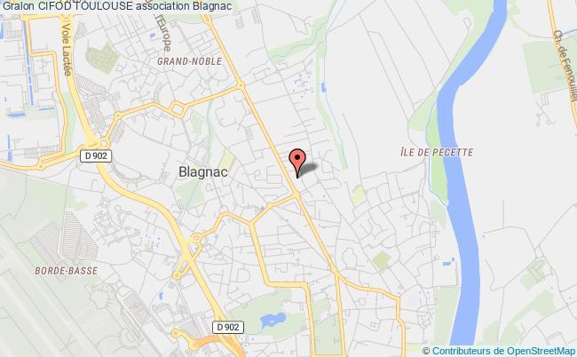 plan association Cifod Toulouse