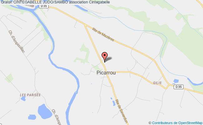 plan association Cintegabelle Judo/sambo