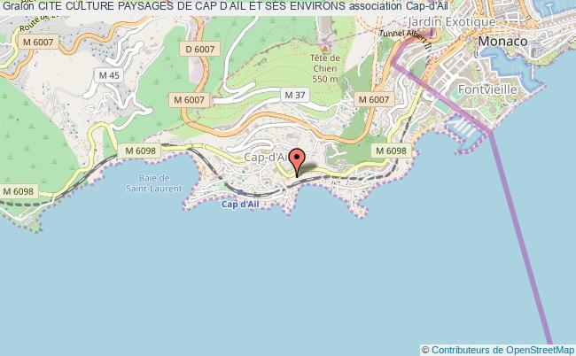 plan association Cite Culture Paysages De Cap D Ail Et Ses Environs