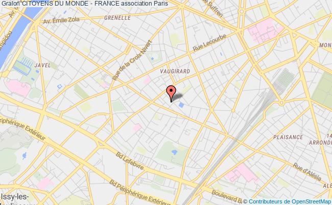 plan association Citoyens Du Monde - France