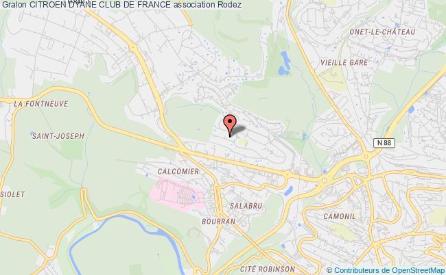 plan association Citroen Dyane Club De France