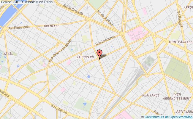 plan association Cjdes Paris