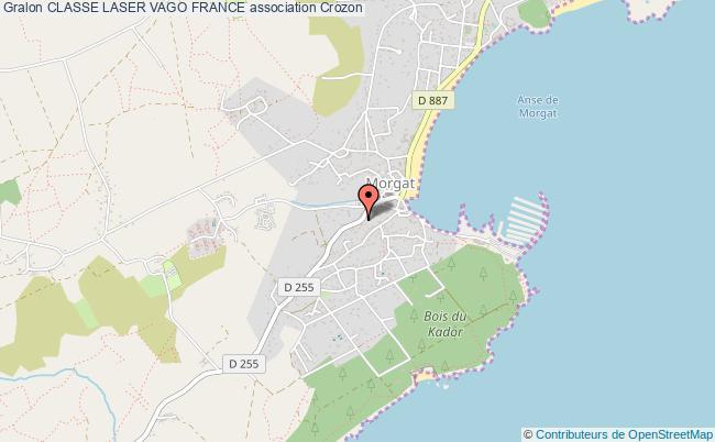 plan association Classe Laser Vago France