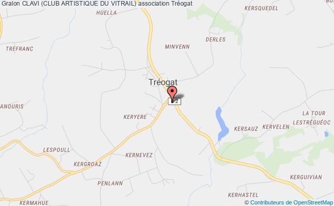 plan association Clavi (club Artistique Du Vitrail)