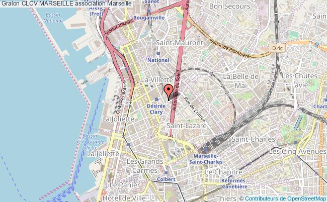 plan association Clcv Marseille