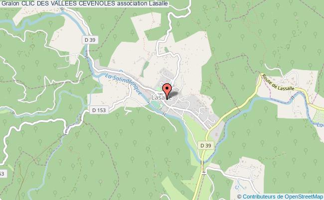 plan association Clic Des Vallees Cevenoles