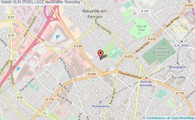 plan association Clin D'oeil Lille Tourcoing