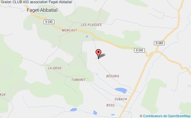 plan association Club 403 Saint-Pathus