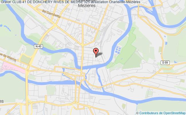 plan association Club 41 De Donchery Rives De Meuse 325