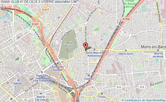 plan association Club 41 De Lille 3 Lyderic