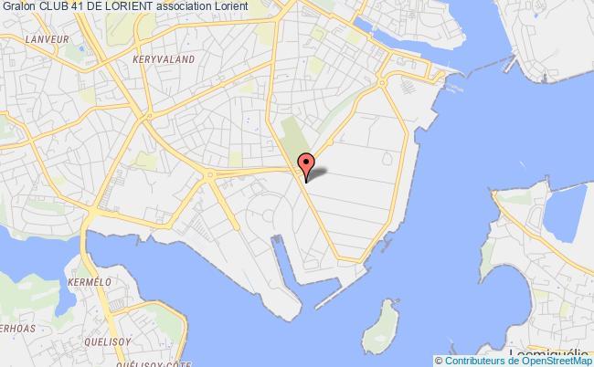 plan association Club 41 De Lorient