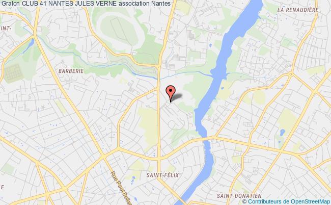 plan association Club 41 Nantes Jules Verne