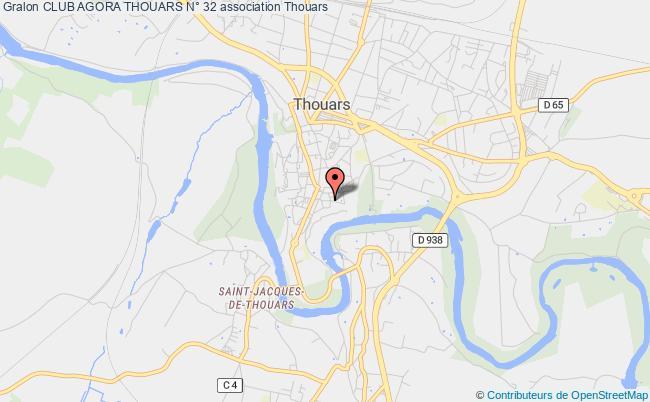 plan association Club Agora Thouars N° 32 Thouars