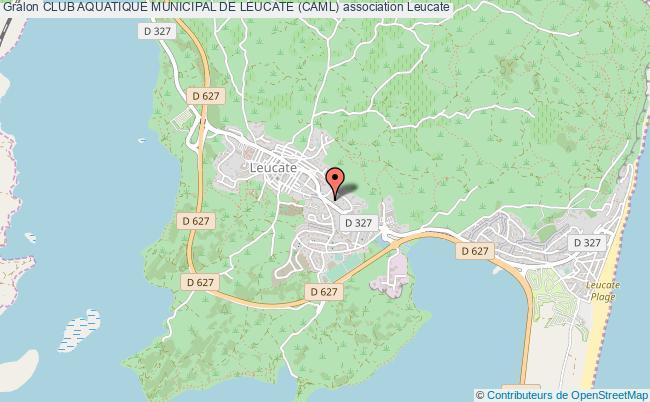 plan association Club Aquatique Municipal De Leucate (caml) Leucate