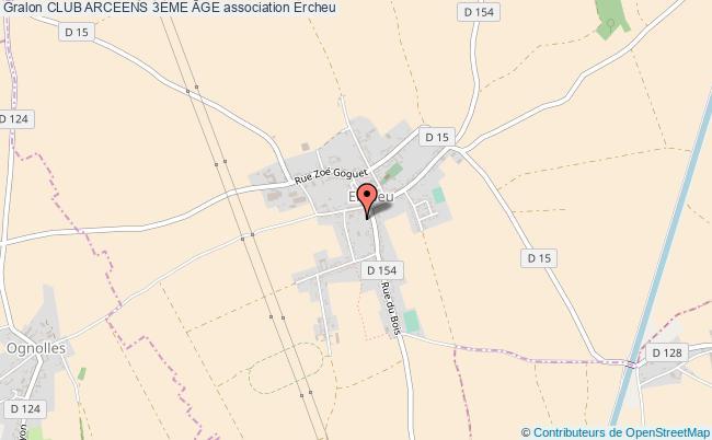 plan association Club Arceens 3eme Âge