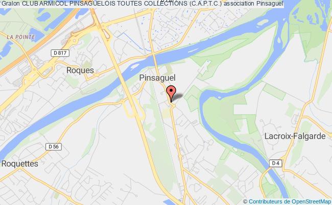 plan association Club Armicol Pinsaguelois Toutes Collections (c.a.p.t.c.)