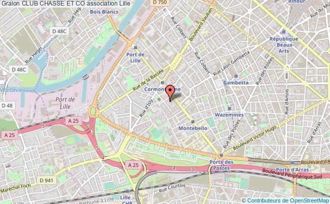 plan association Club Chasse Et Co