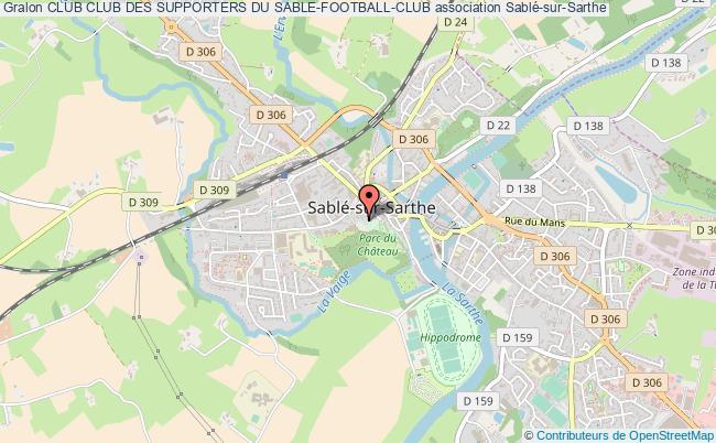 plan association Club Club Des Supporters Du Sable-football-club
