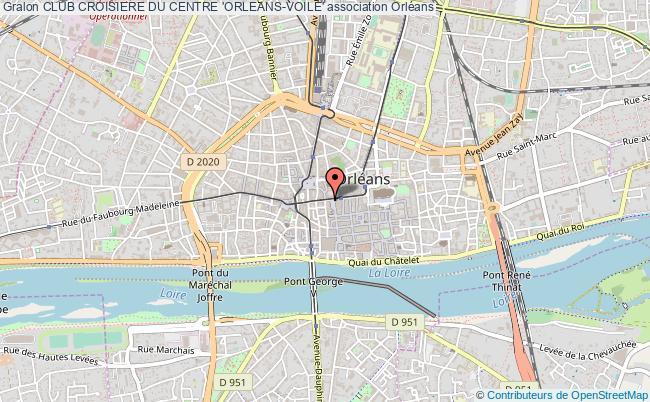 plan association Club Croisiere Du Centre 'orleans-voile'