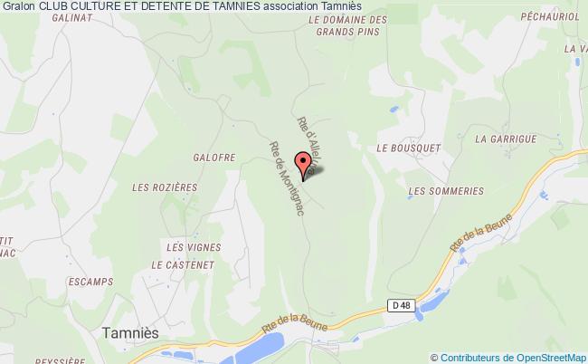 plan association Club Culture Et Detente De Tamnies Tamniès