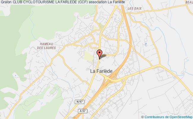 plan association Club Cyclotourisme La Farlede (ccf)