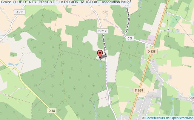 plan association Club D'entreprises De La Region Baugeoise