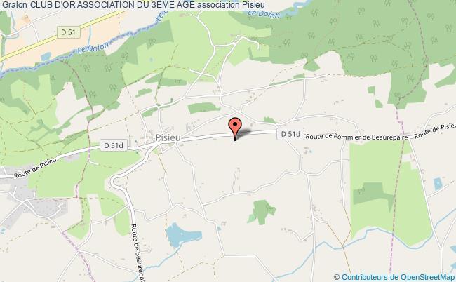 plan association Club D'or Association Du 3eme Age Pisieu
