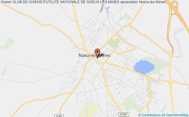 plan association Club De Chiens D'utilite Nationale De Noeux-les-mines