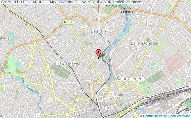 plan association Club De Chirurgie Mini-invasive De Saint-augustin