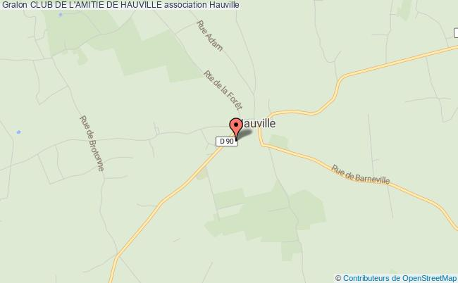 plan association Club De L'amitie De Hauville Hauville