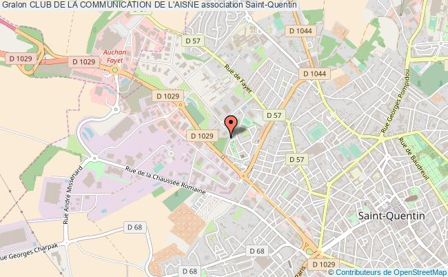 plan association Club De La Communication De L'aisne