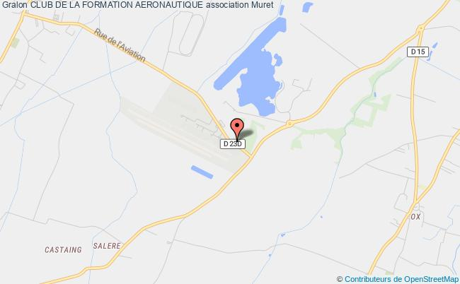 plan association Club De La Formation Aeronautique Muret