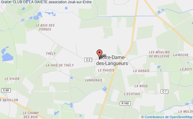 plan association Club De La Gaiete