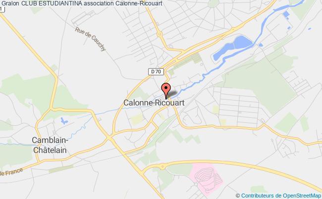 plan association Club De Mandolinistes 'estudiantina'