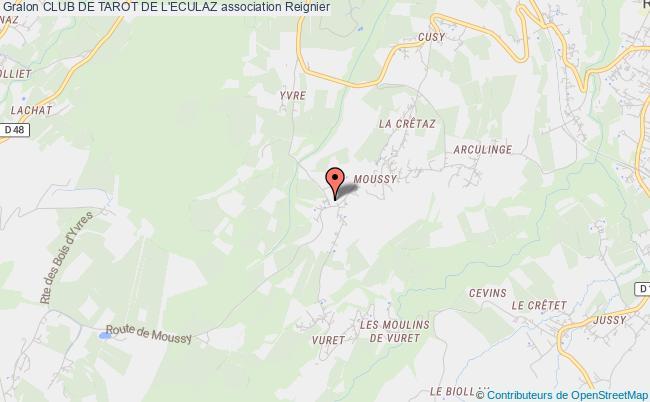 plan association Club De Tarot De L'eculaz
