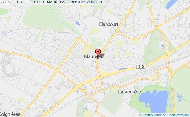 plan association Club De Tarot De Maurepas Maurepas
