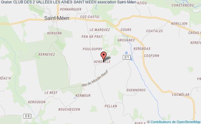 plan association Club Des 2 VallÉes Les AÎnÉs Saint Meen