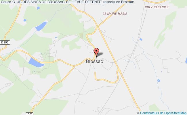 plan association Club Des Aines De Brossac 'bellevue Detente' Brossac