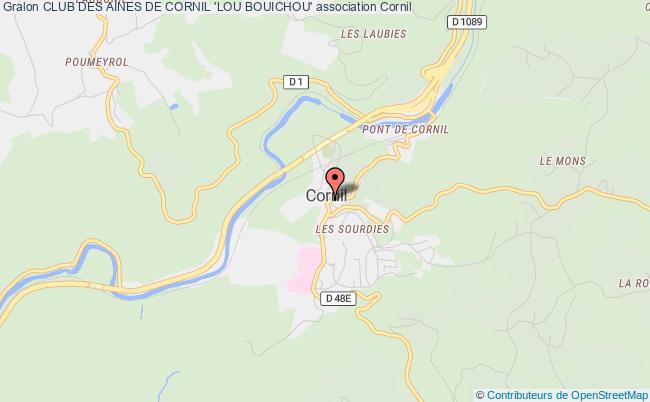 plan association Club Des Aines De Cornil 'lou Bouichou'