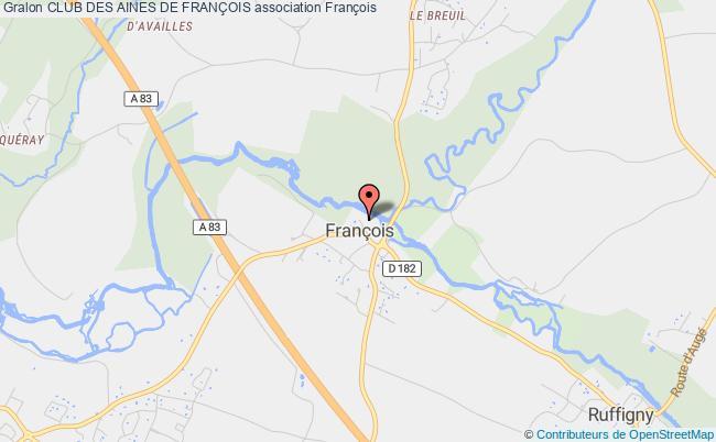 plan association Club Des Aines De FranÇois