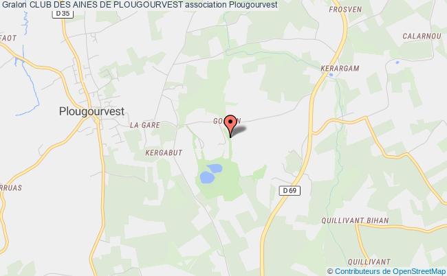 plan association Club Des Aines De Plougourvest Plougourvest