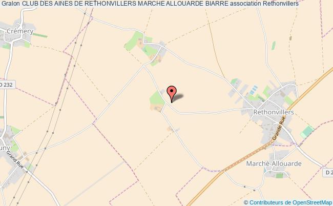 plan association Club Des Aines De Rethonvillers Marche Allouarde Biarre